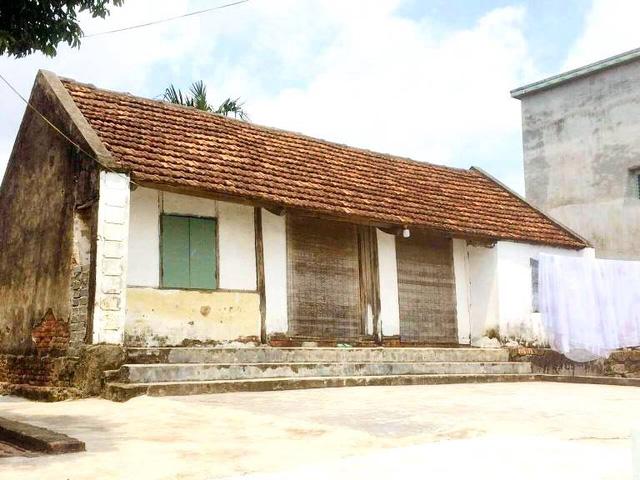 Ngôi nhà của cụ Trần Thị Hà tại thôn Đông Cao. Ảnh: Phạm Hạnh