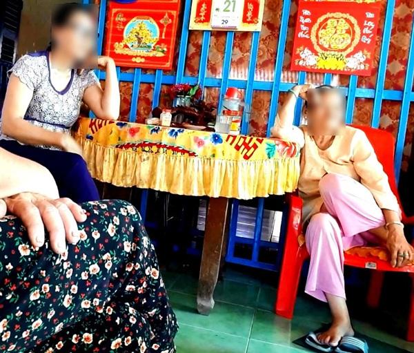 Người thân của gia đình cụ Đ. khẳng định, gia đình cụ rất phức tạp. (Ảnh: Nguyễn Sơn).