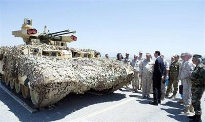 BMPT- Kẻ huỷ diệt Terminator đã được đưa tới Syria để kiểm tra trong điều kiện chiến đấu thực tế