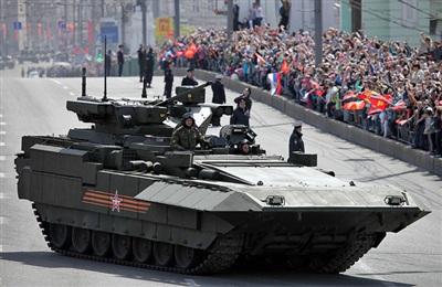 Khung gầm xe tăng T-14 Amatar có thể sẽ được sử dụng cho 'kẻ hủy diệt Terminator'.