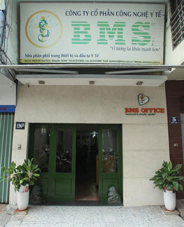 Công ty BMS liên danh với Công ty Cổ phần Đầu tư Tuấn Ngọc Minh, nhưng thực chất 2 công ty này đều do Phạm Đức Tuấn làm Giám đốc - Ảnh: Ngô Nhung