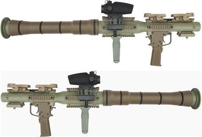 PSRL một mẫu sao chép RPG-7 được AirTronic USA phát triển theo đơn đặt hàng của Quân đội Mỹ. Ảnh: AirTronic USA.