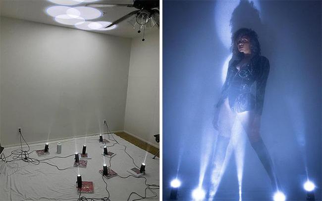 Tự làm studio ở nhà với loạt đèn cũng khiến bạn có được bức ảnh như bìa tạp chí