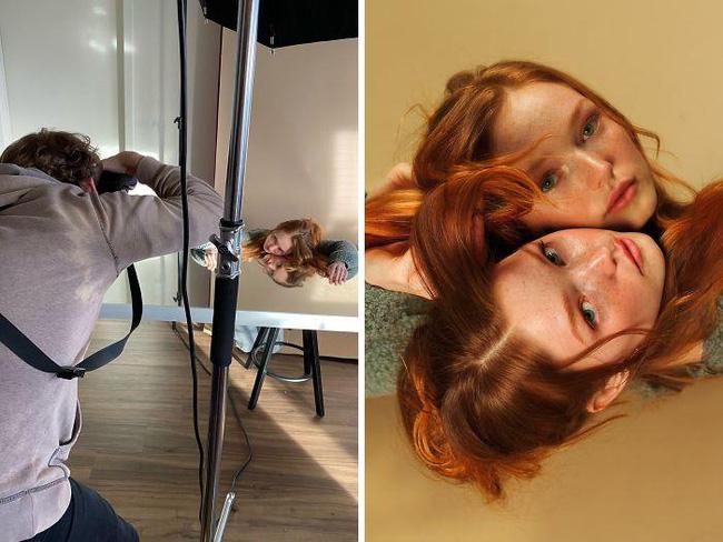 Điều bạn cần chỉ là một cái gương và một người bạn chụp ảnh có tâm
