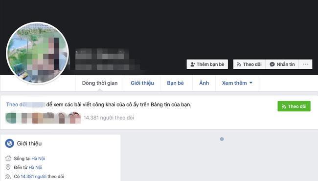 Facebook nhận nhiều follow nhưng đã không còn bài đăng nào.