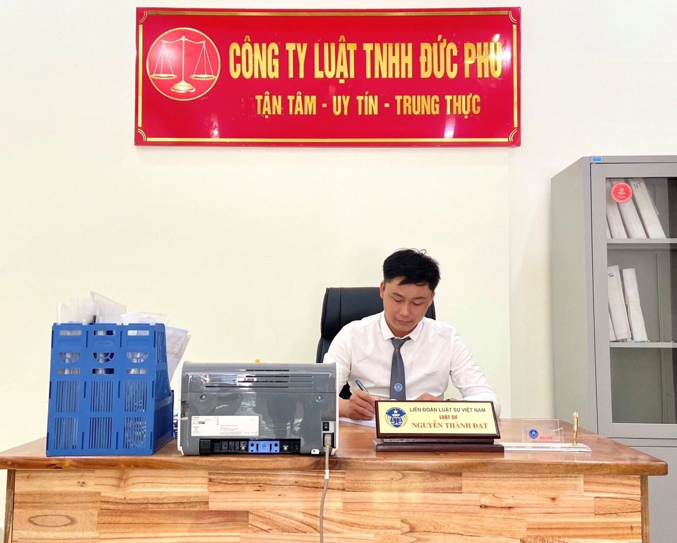 Luật sư Nguyễn Thành Đạt