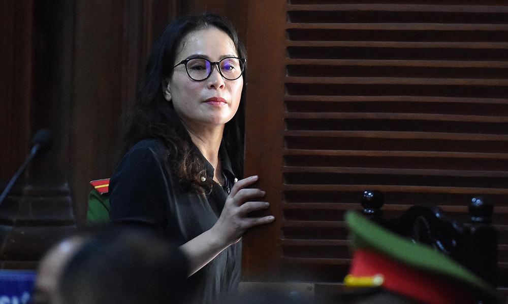 Bị cáo Lê Thị Thanh Thúy