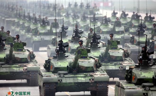 Xe tăng Trung Quốc. Ảnh: 81.cn