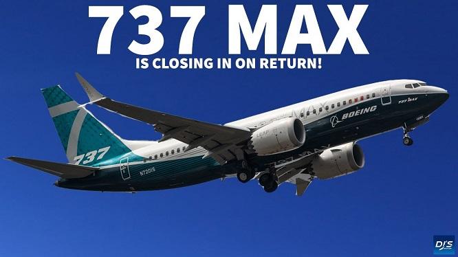 Máy bay Boeing 737 Max. Ảnh: DJS