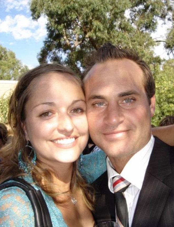 Marzena và chồng của mình