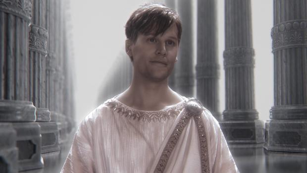 Thần Zeus có lẽ là vai diễn đáng nhớ nhất của David trên màn ảnh hậu Cô Gái Đại Dương