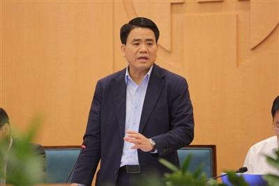 Ông Nguyễn Đức Chung, Chủ tịch UBND TP Hà Nội