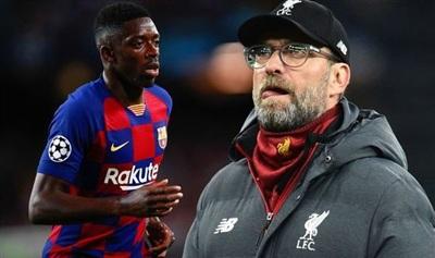 Klopp muốn mượn Dembele của Barca trong 1 mùa