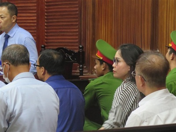 Bị cáo Lê Thị Thanh Thúy tại tòa ngày 19-9