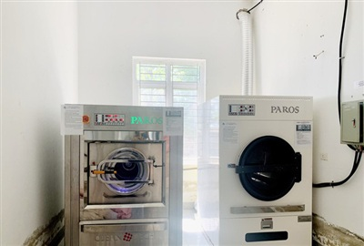 Bộ máy sấy, máy giặt được bán và lắp đặt tại Bệnh viện đa khoa huyện Thạch Hà với giá hơn 3 tỷ đồng dù giá trị thực chỉ hơn 500 triệu.