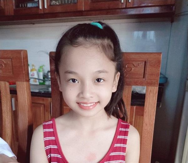 Hình ảnh bé Yến Nhi trước khi mất tích.