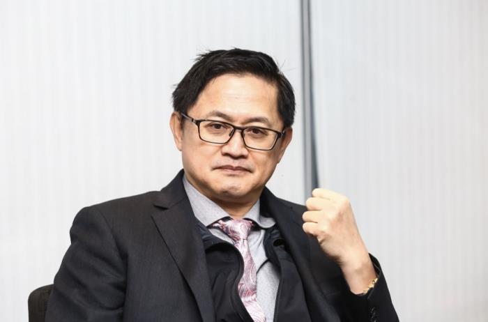 Ông Tung Tzu-hsien, Chủ tịch của Tập đoàn Pegatron. (Ảnh: Getty Images)