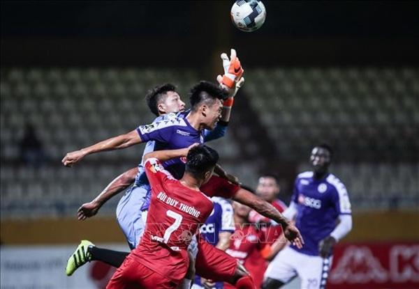 Trận đấu giữa Hà Nội FC và Viettel sẽ xác định được nhà vô địch cúp Quốc gia 2020. - Ảnh: TTXVN