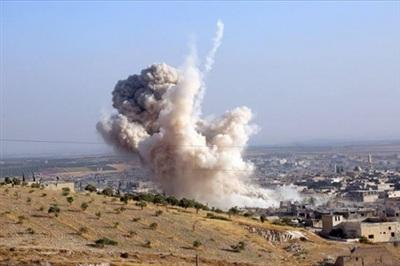 Hình ảnh một vụ không kích của quân đội Nga. Ảnh:Avia-pro