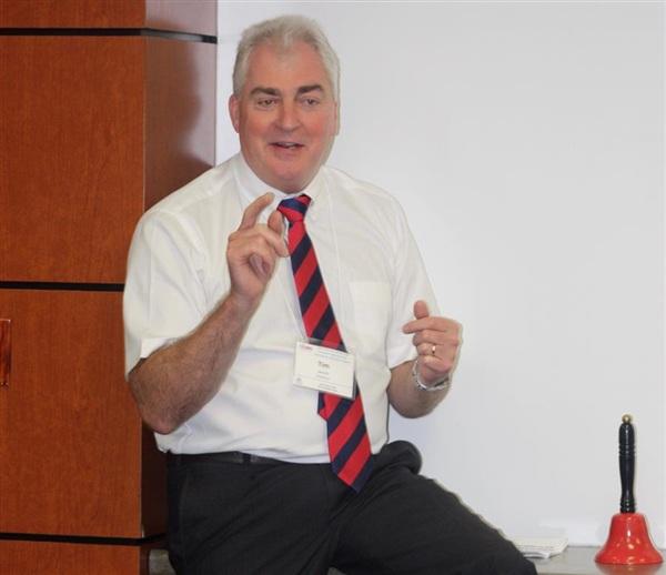 Ông Tim Gerrish, sáng lập Tổ chức Tư vấn Quốc tế về Bảo vệ Trẻ em (ICPA).