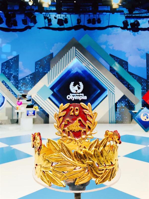 Chiếc vòng nguyệt quế Olympia.