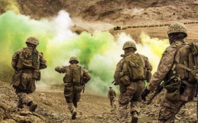 Lính Mỹ trong một cuộc tập trận. Ảnh minh họa (Nguồn: wsws.org)
