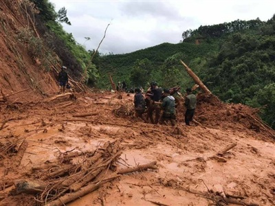 Huyện Tây Giang bị thiệt hại nặng nề do mưa lũ