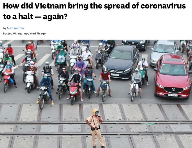 Bài báo trên trang ABC News