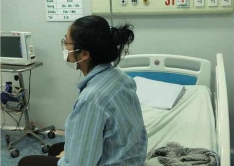 Bệnh nhân số 17 trong những ngày mắc Covid 19 được các y bác sĩ tận tình cứu chữa.