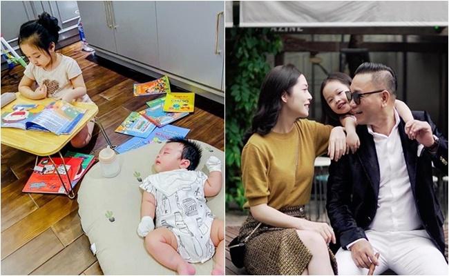 Không chỉ giàu có, chịu chi,đại gia Dương Văn Chương còn khiến nhiều người ghen tỵ vì có vợđẹp như hotgirl, 2 con gái và trai xinh xắn, thông minh.