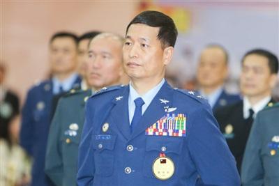 Trung tướng Đài Loan Trương Dương Đình mới về hưu hồi tháng 5 vừa qua. Ảnh tư liệu