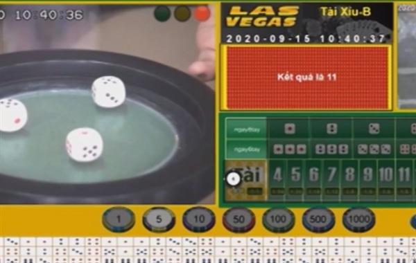 Giao diện trang mạng đánh bạc do nhóm Hưng tổ chức - Ảnh: Chụp màn hình.