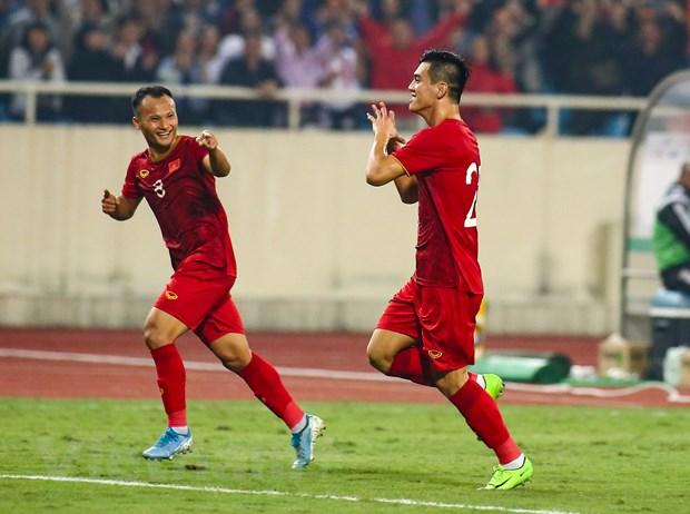 Đội tuyển Việt Nam không bị trùng lịch thi đấu giữa AFF Cup và vòng loại World Cup 2022 trong năm 2021. (Ảnh: Hiển Nguyễn/Vietnam+)