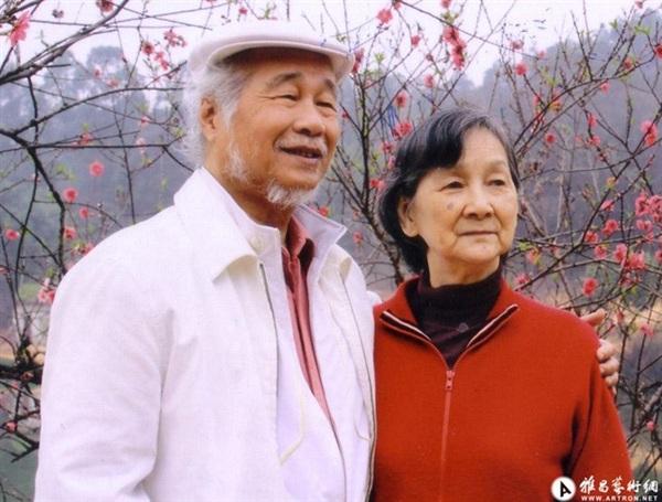 Phan Hạc và Trương Ấu Lan đã có cuộc hôn nhân kéo dài 64 năm
