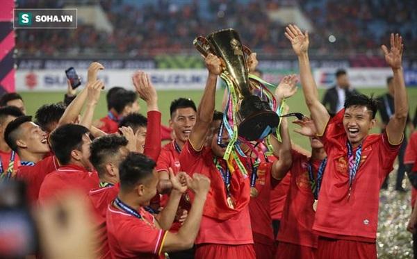 Tuyển Việt Nam đang là đương kim vô địch của giải AFF Cup.