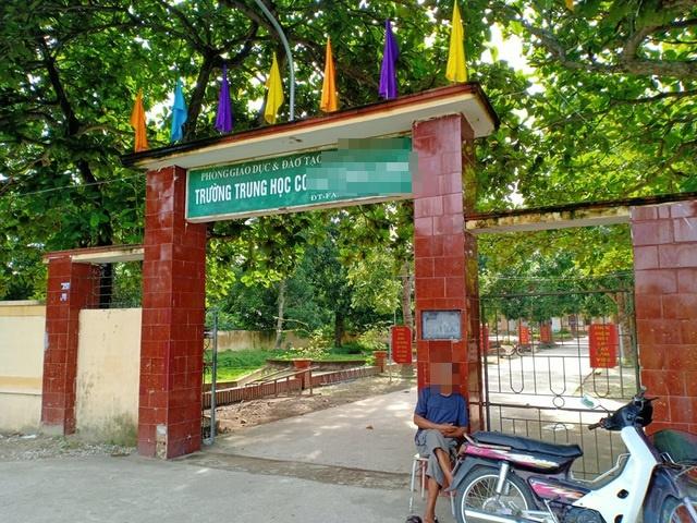 Ngôi trường nơi em N.T.N. theo học. (Ảnh: Dân Trí)