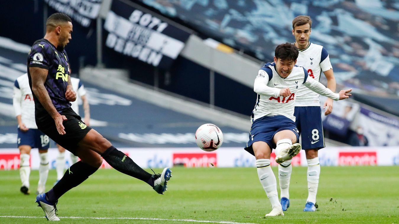 Sondính chấn thương trong hiệp 1 trận gặp Newcastle