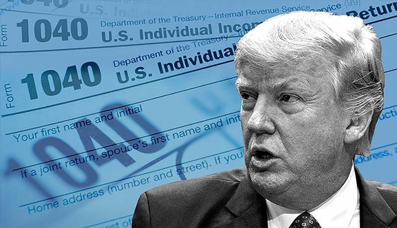 Chủđề thuế của Donald Trump một lần nữa được khơi lại trước thềm cuộc bầu cử Tổng thống Mỹ ngày 3/11. Ảnh: CNN