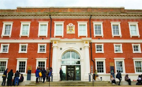 Trường Goldsmiths nơi Kha Dục Danh từng theo học.