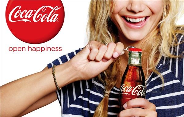 Các quảng cáo của Coca Cola thường nhắm đến niềm vui hay những ý nghĩa lớn lao hơn chỉ là đồ giải khát thông thường