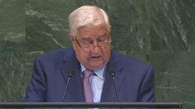 Ngoại trưởng Syria Walid Al-Muallem.