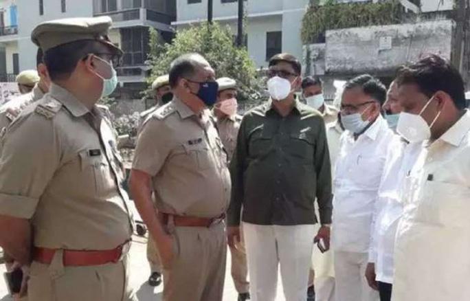 Cảnh sát Ấn Độ. Ảnh: ANI