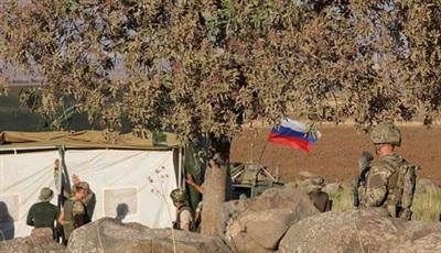 Quân đội Nga bắt đầu dựng trạm kiểm soát mới.