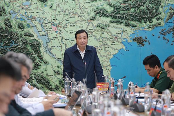 Tổng cục trưởng Tổng cục Phòng chống thiên tai Trần Quang Hoài
