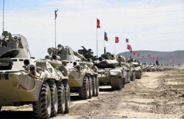 Xe quân sự của Thổ Nhĩ Kỳ. Ảnh: AP