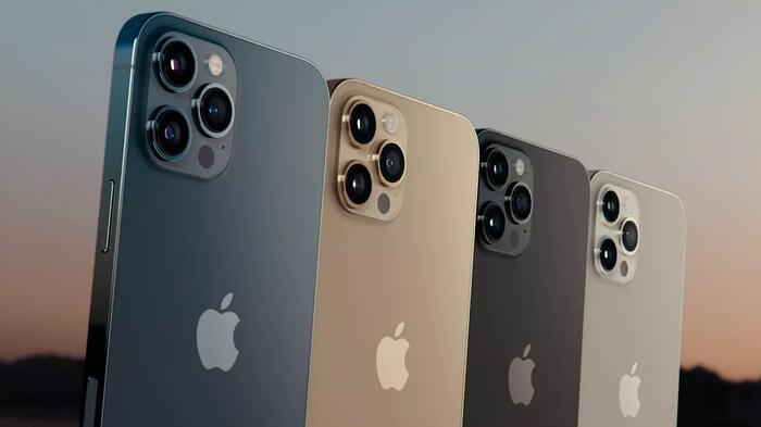 Trong khi đó, iPhone 12 Pro và iPhone 12 Pro Max có camera nhỉnh hơn thế hệ cũ khi trang bị thêm cảm biến LiDAR. (Ảnh: Apple)