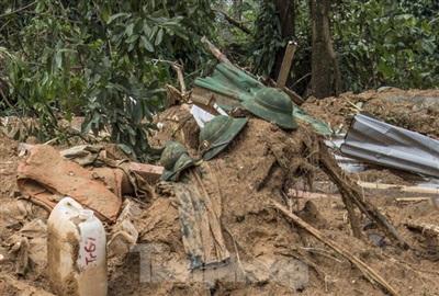 Vật dụng của 13 liệt sĩ hy sinh trong sự cố thủy điện Rào Trăng 3, xã Phong Xuân, huyện Phong Điền, tỉnh Thừa Thiên- Huế. Ảnh: Tiền Phong