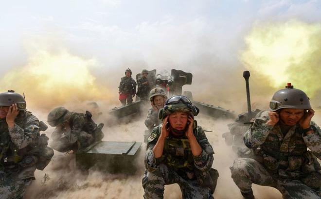 Binh lính Trung Quốc diễn tập. Ảnh minh họa