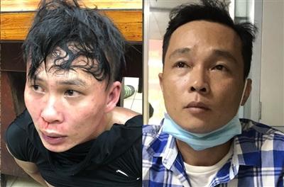 2 đối tượng cướp giật bị bắt giữ