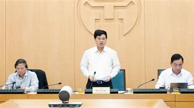 Ông Ngô Văn Quý – Phó Chủ tịch UBND TP Hà Nội yêu cầu, tất cả mọi người phải đeo khẩu trang ở nơi công cộng.